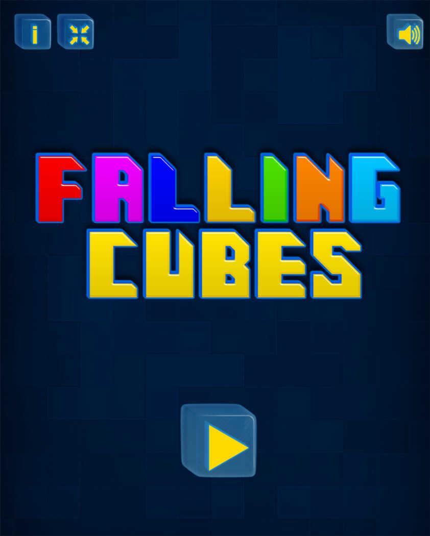 Image Falling Cubes